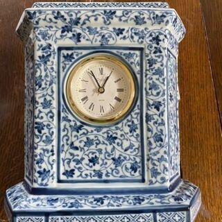 陶器製 セイコープレシジョン Ryuho JAPAN 置時計