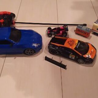 ミニカー、ラジコン、電車おもちゃ