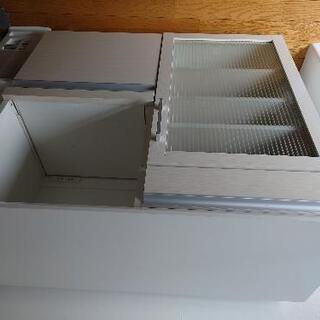 2つ穴コンセント付キッチンカウンター