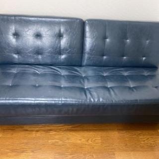 ソファベッド(本体・収納付き椅子)2点セット