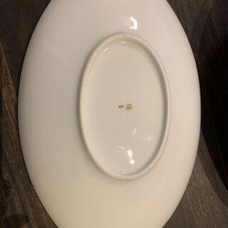 たち吉 カレー・パスタ皿 2枚(楕円形)