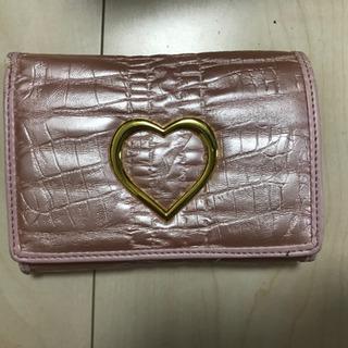 大きめの折り畳み財布 新古品
