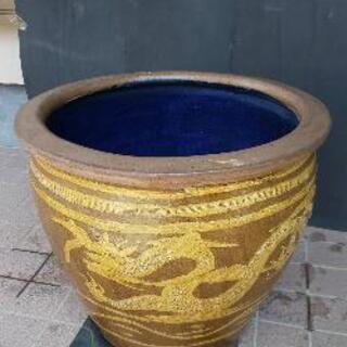 壺 骨董品 陶器 水鉢