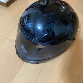 MOTORHERO インナーバイザー フルフェイス 黒