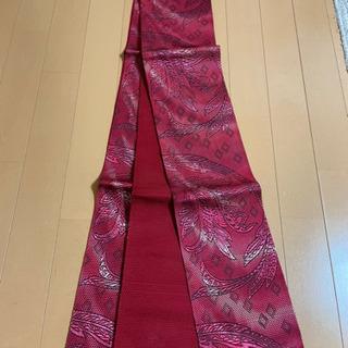 6MNA904 筑前本番 小紋袋帯 半幅帯 正絹