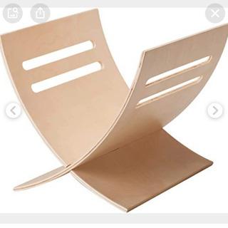 木製 マガジンラック IKEA
