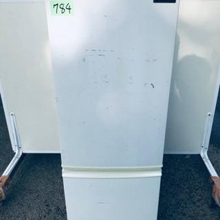 ⑤784番 シャープ✨ノンフロン冷凍冷蔵庫✨SJ-17R-W‼️
