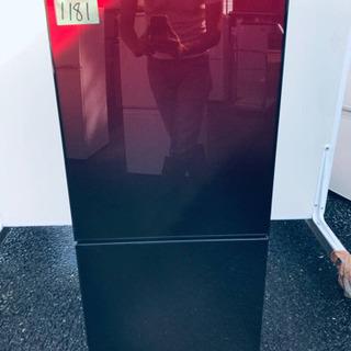 ③✨2017年製✨1181番 U-ING✨ノンフロン冷凍冷蔵庫✨...