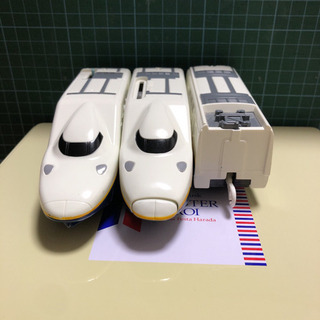 プラレール E4系Maxとき(黄色帯)