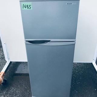 1485番 シャープ✨ノンフロン冷凍冷蔵庫✨SJ-H12W-S‼️