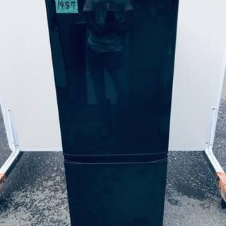 1487番 三菱✨ノンフロン冷凍冷蔵庫✨MR-P15X-B‼️