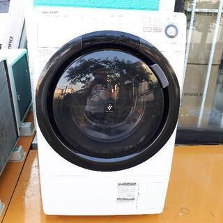 ドラム洗濯機!乾燥!SHARP!一人暮らし&カップルにピッタリサイズ!