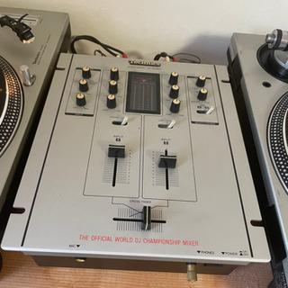 ターンテーブルセット テクニクスSL-1200MK3D ベスタックスSH-DX1200 パイオニアA-N701 - 宜野湾市