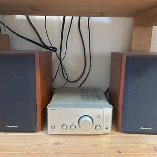 ターンテーブルセット テクニクスSL-1200MK3D ベスタックスSH-DX1200 パイオニアA-N701 - 楽器