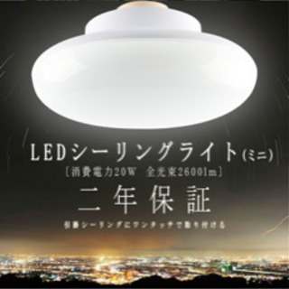 値下げ(美品使用1日)LED照明 昼白色
