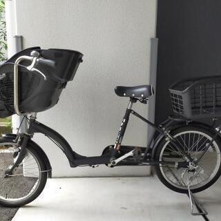 自転車20型 チャイルドシート カゴ付き