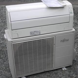 富士通 ルームエアコン AS-R28V-W 2.8kW 冷房 8...
