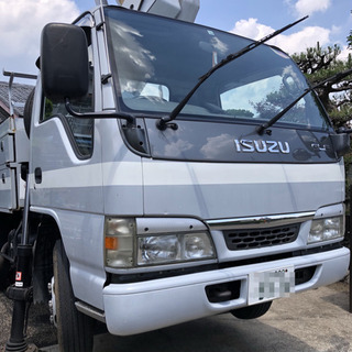 【ネット決済】高所作業車 いすゞ