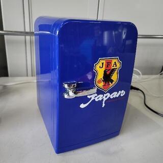 【ネット決済】0615004 小型冷蔵庫 サッカー日本代表デザイン