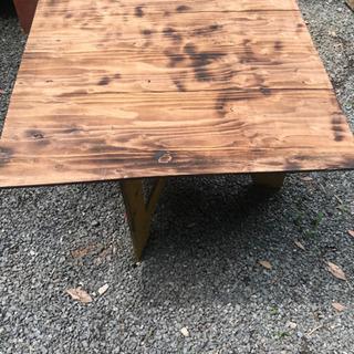 手作り 組み立て式テーブル