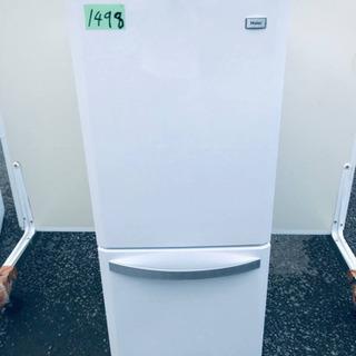 1498番 Haier✨冷凍冷蔵庫✨JR-NF140H‼️