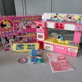 【ネット決済】0615023 ミニーマウスシステムキッチン TOMY