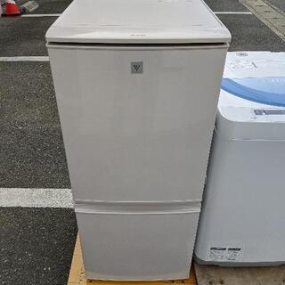 冷蔵庫 シャープ SJ-PD14B 2015年製 137L【3ヶ...
