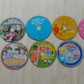 こどもチャレンジなどの中古DVD9枚 新品未開封CD1枚