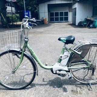 ③859番  電動自転車✨ Panasonic ビビ END63‼️