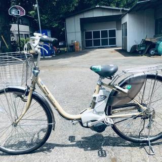 ③862番  電動自転車✨ Panasonic ビビ END63‼️