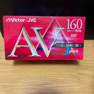Victor ビデオテープ 3パック VHS