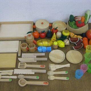 おままごと用 おもちゃ 道具セット 木製&布製&プラスチック製 ...