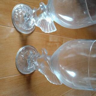 洒落たワイングラス