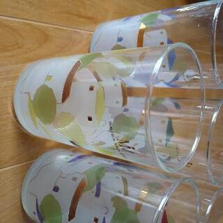 【ネット決済】グラス5客 未使用