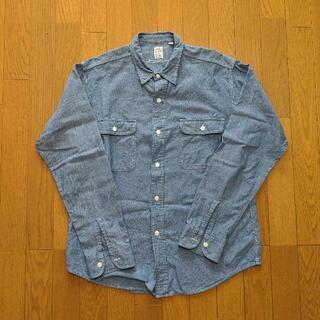 【MADE IN USA】SEROワークシャンブレーシャツ