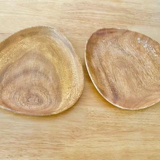 【木製お皿2枚】買ってください🙇
