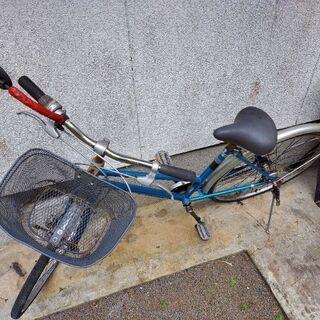 自転車(青)