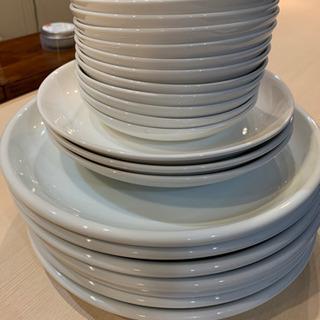陶器 白い皿 器 取り皿 白器 セット