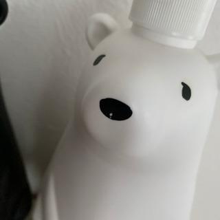 【ネット決済・配送可】クマのディスペンサーセット 900ml