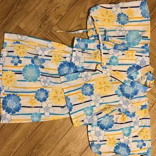 【ネット決済】サイズ90 女の子浴衣
