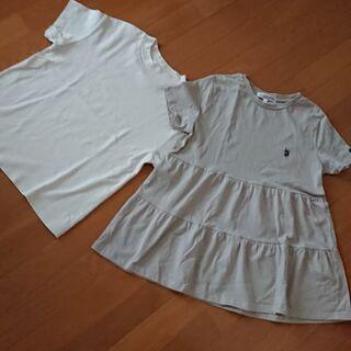 未使用 レディ―スTシャツ 2枚セット