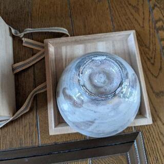 【茶道具】萩焼 梅田陶楽造 茶碗