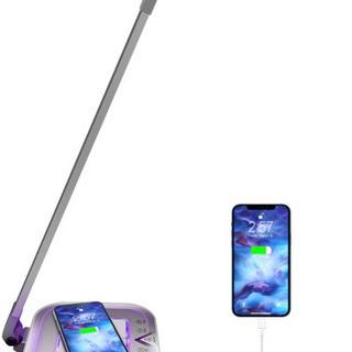 【新品】LEDディスクライト Qiワイヤレス充電可能