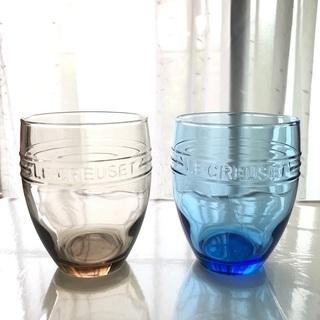 【未使用品】ル・クルーゼ  グラス 2個セット