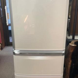 三菱冷凍冷蔵庫 3ドア冷蔵庫 MR-C34R-W 335L 中古...