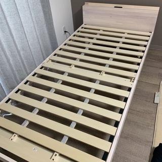 値下げ シングルベッド すのこ フレームのみ