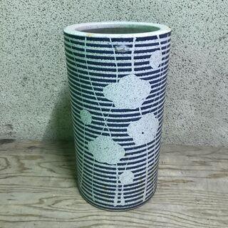 陶器製 傘立て 円筒 円柱 直径24cm×高さ44cm