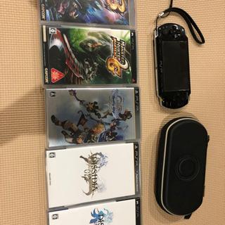 PSP2000+ソフト5本