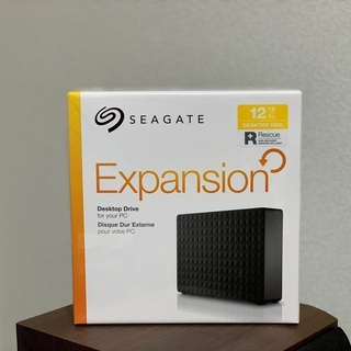 新品未開封 Seagate 12TB USB 3.0 外付ハード...