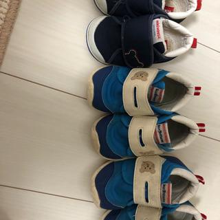 ミキハウス 靴 セット